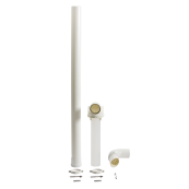 Baxi Multifit Plume Kit including 1mtr Extension and Brackets