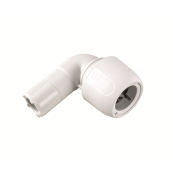 Hep2O HD4 90deg Single Socket Elbow 22mm