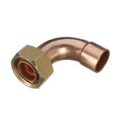 End Feed Bent Tap Connector 22mm x 3/4""