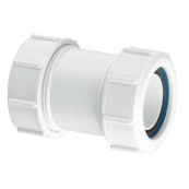 McAlpine S28M straight multi-fit connector 1.1/4""