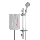 Bristan Glee 8.5KW White Electric Shower