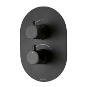 Kaha Concealed Mixer Valve (Single Outlet) (Matte Black)
