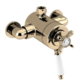Bristan 1901 Exposed Concentric Top Outlet Shower Valve