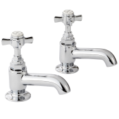 Sequel Bath Pillar Taps